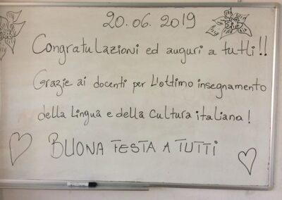 Corso di Italiano B1 – Salerno 18/19