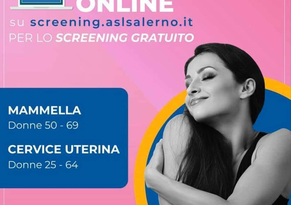 SCREENING GRATUITO ASL SALERNO